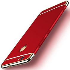 Etui Bumper Luxe Metal et Plastique M02 pour Huawei Nova Rouge