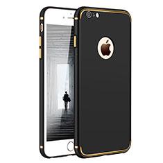 Etui Bumper Luxe Metal et Plastique pour Apple iPhone 6S Plus Noir