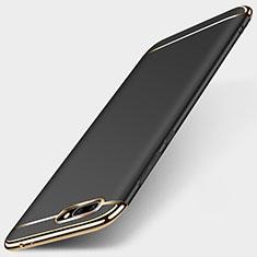 Etui Bumper Luxe Metal et Plastique pour Huawei Honor 10 Noir