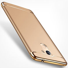 Etui Bumper Luxe Metal et Plastique pour Huawei Honor 6A Or