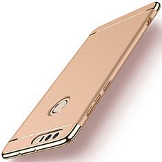 Etui Bumper Luxe Metal et Plastique pour Huawei Honor 8 Or