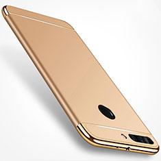 Etui Bumper Luxe Metal et Plastique pour Huawei Honor V9 Or