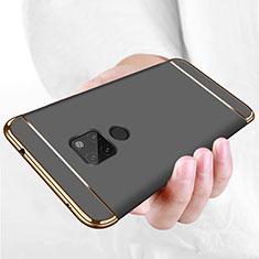 Etui Bumper Luxe Metal et Plastique pour Huawei Mate 20 Noir