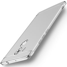 Etui Bumper Luxe Metal et Plastique pour Huawei Mate 8 Argent