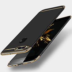 Etui Bumper Luxe Metal et Plastique pour Huawei Nova 2 Plus Noir