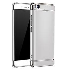 Etui Bumper Luxe Metal et Plastique pour Xiaomi Mi 5S Argent