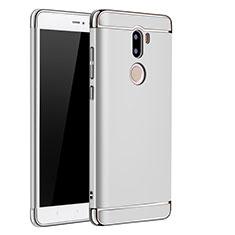 Etui Bumper Luxe Metal et Plastique pour Xiaomi Mi 5S Plus Argent