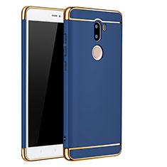 Etui Bumper Luxe Metal et Plastique pour Xiaomi Mi 5S Plus Bleu