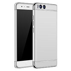 Etui Bumper Luxe Metal et Plastique pour Xiaomi Mi 6 Argent