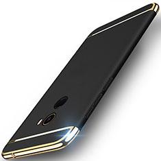 Etui Bumper Luxe Metal et Plastique pour Xiaomi Mi Mix 2 Noir