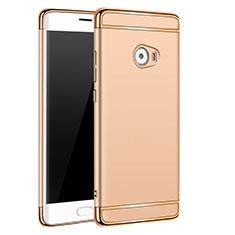 Etui Bumper Luxe Metal et Plastique pour Xiaomi Mi Note 2 Or