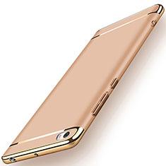 Etui Bumper Luxe Metal et Plastique pour Xiaomi Mi Note Or