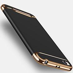 Etui Bumper Luxe Metal et Plastique pour Xiaomi Redmi 4A Noir