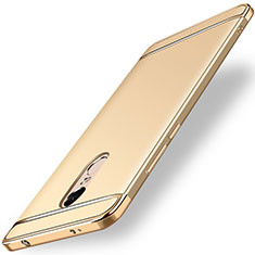 Etui Bumper Luxe Metal et Plastique pour Xiaomi Redmi Note 4 Standard Edition Or