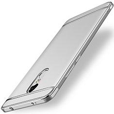 Etui Bumper Luxe Metal et Plastique pour Xiaomi Redmi Note 4X Argent