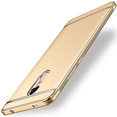 Etui Bumper Luxe Metal et Plastique pour Xiaomi Redmi Note 4X Or