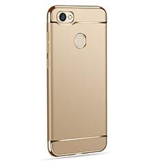 Etui Bumper Luxe Metal et Plastique pour Xiaomi Redmi Y1 Or
