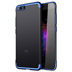 Etui Contour Silicone Transparente Gel pour Xiaomi Mi Note 3 Bleu