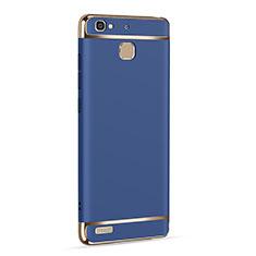 Etui Luxe Aluminum Metal pour Huawei G8 Mini Bleu