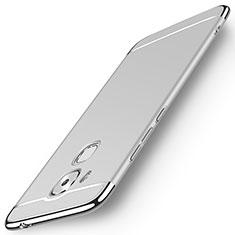 Etui Luxe Aluminum Metal pour Huawei G9 Plus Argent