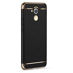 Etui Luxe Aluminum Metal pour Huawei Nova Smart Noir