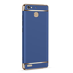 Etui Luxe Aluminum Metal pour Huawei P8 Lite Smart Bleu