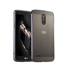 Etui Luxe Aluminum Metal pour LG Stylus 3 Argent
