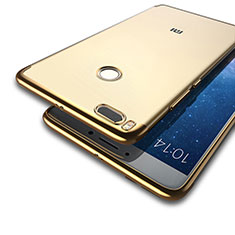 Etui Luxe Aluminum Metal pour Xiaomi Mi A1 Or