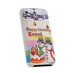 Etui Plastique Rigide Christmas pour Apple iPhone 3G 3GS Colorful