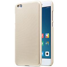 Etui Plastique Rigide Mailles Filet pour Xiaomi Mi 5C Or