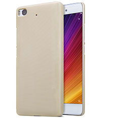 Etui Plastique Rigide Mailles Filet pour Xiaomi Mi 5S 4G Or