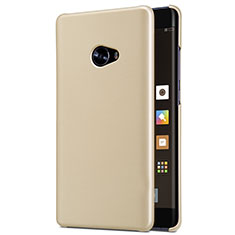 Etui Plastique Rigide Mailles Filet pour Xiaomi Mi Note 2 Special Edition Or