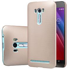 Etui Plastique Rigide Mat M01 pour Asus Zenfone Selfie ZD551KL Or