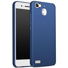 Etui Plastique Rigide Mat M01 pour Huawei G8 Mini Bleu