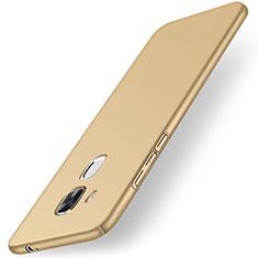Etui Plastique Rigide Mat M01 pour Huawei G9 Plus Or