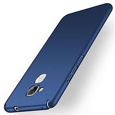 Etui Plastique Rigide Mat M01 pour Huawei Honor 5C Bleu
