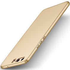 Etui Plastique Rigide Mat M01 pour Huawei P10 Or