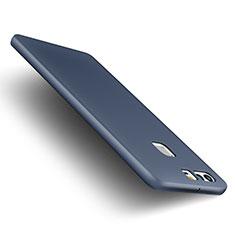 Etui Plastique Rigide Mat M01 pour Huawei P9 Plus Bleu