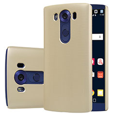 Etui Plastique Rigide Mat M01 pour LG V10 Or