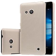 Etui Plastique Rigide Mat M01 pour Microsoft Lumia 550 Or