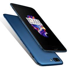 Etui Plastique Rigide Mat M01 pour OnePlus 5 Bleu