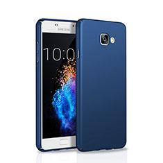 Etui Plastique Rigide Mat M01 pour Samsung Galaxy A5 (2016) SM-A510F Bleu