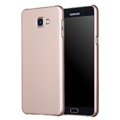 Etui Plastique Rigide Mat M01 pour Samsung Galaxy A5 (2017) SM-A520F Or