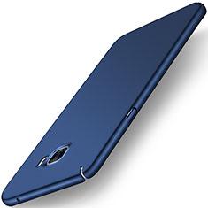 Etui Plastique Rigide Mat M01 pour Samsung Galaxy C5 SM-C5000 Bleu