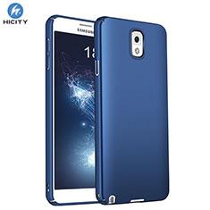 Etui Plastique Rigide Mat M01 pour Samsung Galaxy Note 3 N9000 Bleu