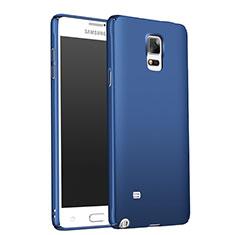Etui Plastique Rigide Mat M01 pour Samsung Galaxy Note 4 Duos N9100 Dual SIM Bleu