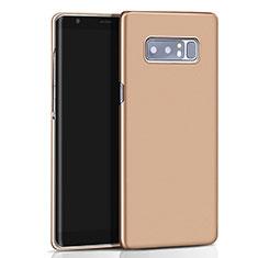 Etui Plastique Rigide Mat M01 pour Samsung Galaxy Note 8 Duos N950F Or