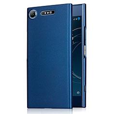 Etui Plastique Rigide Mat M01 pour Sony Xperia XZ1 Bleu