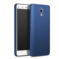 Etui Plastique Rigide Mat M01 pour Xiaomi Mi 4 Bleu