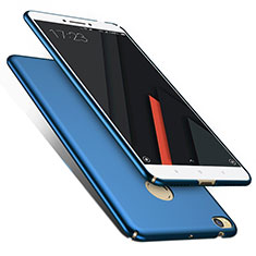 Etui Plastique Rigide Mat M01 pour Xiaomi Mi Max 2 Bleu